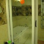suite bath area