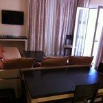 Apartment type 1 living room