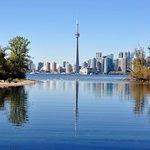 Schöner Blick auf die Skyline von Toronto