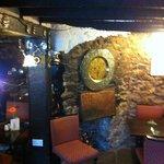 cosy corner in restaurant