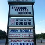 Hog Heaven sign in Washington, NC
