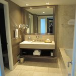 Large and well appointed bathroom, with separate wc.