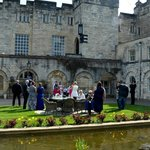 Castle Courtyard Area - Great for drinks in the sun!