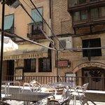 Restaurant vu de la terrasse