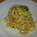 Fettuccini with Lionfish and lime