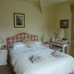 Our double en-suite Room with dual aspect windows