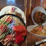 fun window display of food