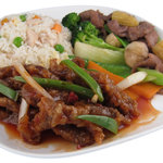 Ginger Beef Lunch Combo