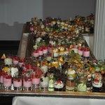 buffet de dessert : verrines à volonté