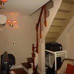 The mezzanine room