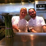 Chef Anne and Devin