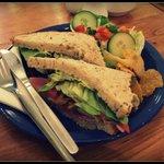 Choice of Sandwich available - £2.95