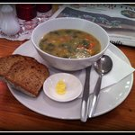 Soup of the Day & Bread - £2.85