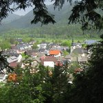 Kranjska Gora from hills above.