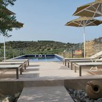 Pool area, a proper pool to swim in
