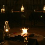 Dinner in the boma