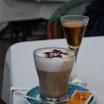 Koffie met grappa