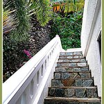 steps to our villa