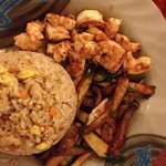hibachi shrimp lunch