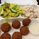 to go : falafel and more only $5