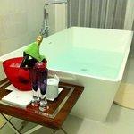 bath and bubbles
