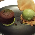 Chocolate Green Tea Lava