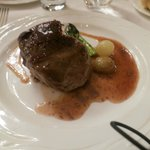 beef tenderloin with old fashioned mustard