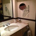 Bathroom at the Morales