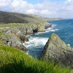 Blick zu den Cliffs