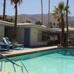 pool and reception aera
