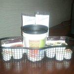 In-room Keurig coffee service.