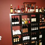 A selection of over 20 wines from Latin America and a full service bar