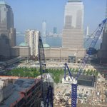WTC Reconstruction Site from RM 2911