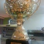 Trofeo 1º clasificado campeonado italiano de pizza 2006