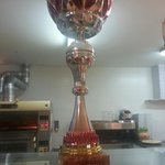 Trofeo 1º clasificado MEJOR MASA 2006