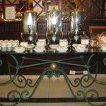 café -thé self service mais aussi servi à table