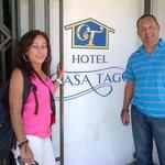Frente del Hotel Casa Tago