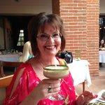 Tamarind Margarita at the Agave Restaurant