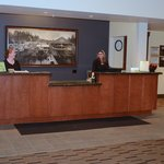 Incredibly friendly and professional guest services agents
