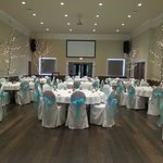 Banquet Hall seats up to 144