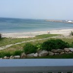 View of Block Island Harbor from Avaonlea Porch