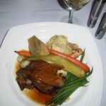 Lamb Shank - large portion, very moist and flavorable ($25)