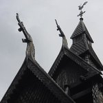 Hopperstad Stave Church the gargoyles