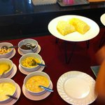 Western breakfast buffet