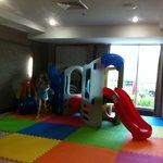 Kids play area in breakfast room