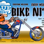 Bike Night on Wednesday as long as weather permitts