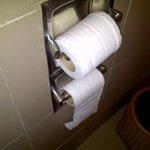 Broken Toilet paper holders