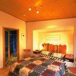 Ecocabin bedroom