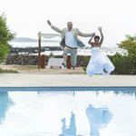 Finch Bay Hotel pool splash!!!
