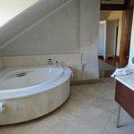 The large bath